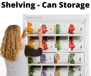 Shelving - Can Storage